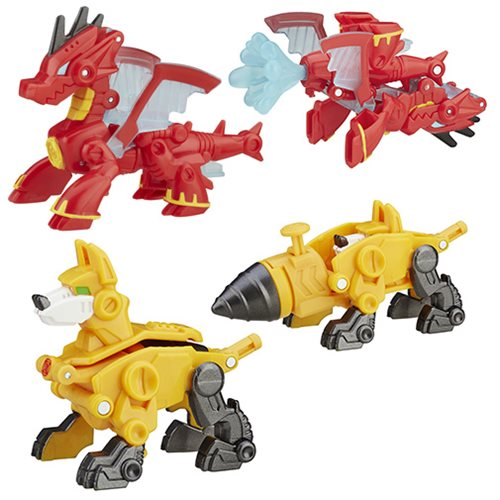Transformers Rescue Bots Mini-Cons Wave 1 Set
