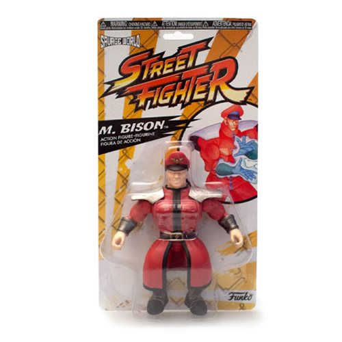 Street Fighter M Bison Savage World Action Figure Entertainment