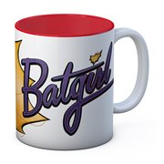 DC Universe Bombshells Batgirl White and Red Ceramic Mug