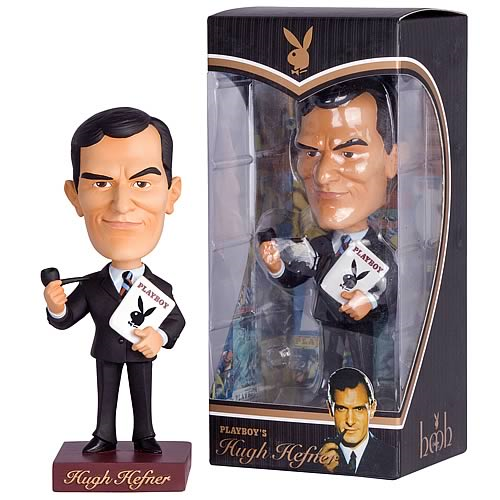 Playboy Hugh Hefner 1953 Bobble Head