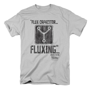 Back to the Future Flux Capacitor Fluxing T-Shirt