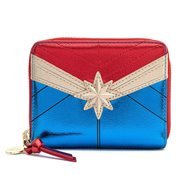 Marvel Captain Marvel Classic Zip-Around Wallet