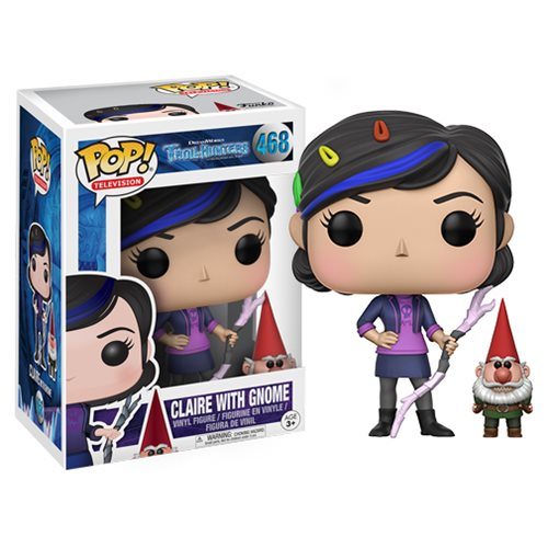 Trollhunters Claire with Gnome Pop! Vinyl Figure #468