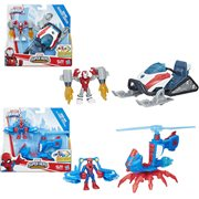 Marvel Super Hero Adventures Figure and Vehicle Wave 1 Set