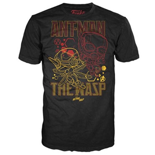 Ant-Man Wasp Team Pop! T-Shirt