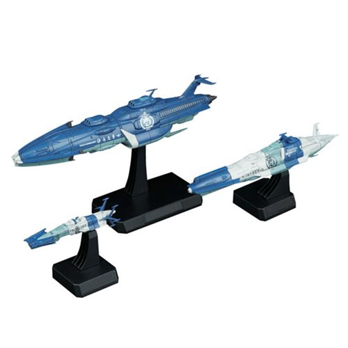 Space Battleship Yamato Yunagi Combined Cosmo Fleet 1:1000 Scale Model Kit