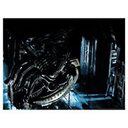 Alien In Space No One Can Hear You Scream by Louis Solis Lithograph