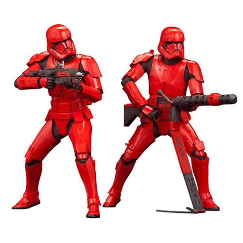 Star Wars: The Rise of Skywalker Sith Trooper 2-Pack ARTFX+ Statues