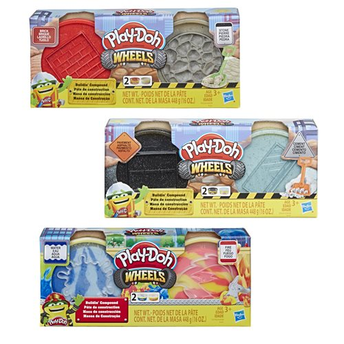 Play-Doh Building Compound Wave 2 Case