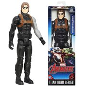 Avengers Titan Hero Series Winter Soldier 12-Inch Action Figure