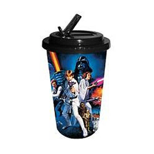 Star Wars A New Hope 16 oz. Flip-Straw Travel Cup
