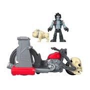 DC Super Friends Imaginext Lobo and Motorcycle Set