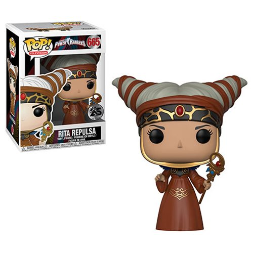 Power Rangers Rita Repulsa Pop! Vinyl Figure #665, Not Mint