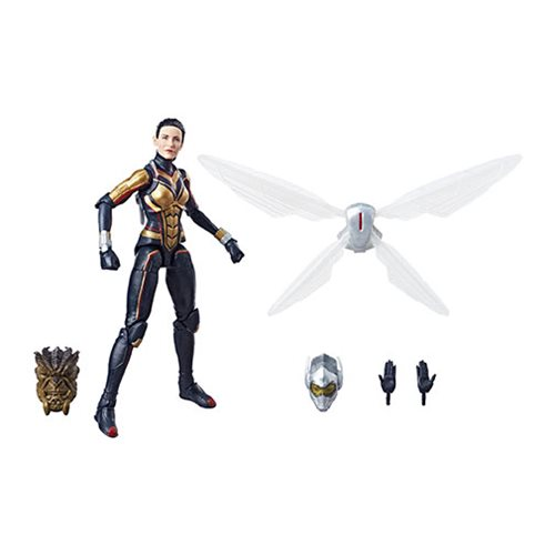 Avengers Marvel Legends Wasp Action Figure, Not Mint