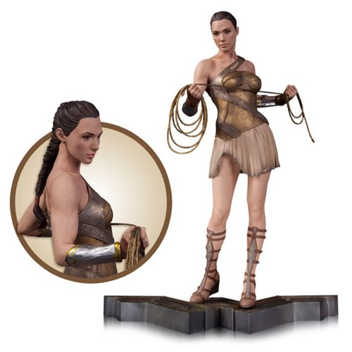 Wonder Woman Training Outfit Movie Statue