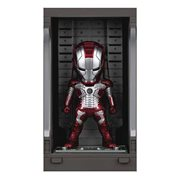 Iron Man 3 MEA-015 Iron Man MK V Action Figure with Hall of Armor Display - Previews Exclusive