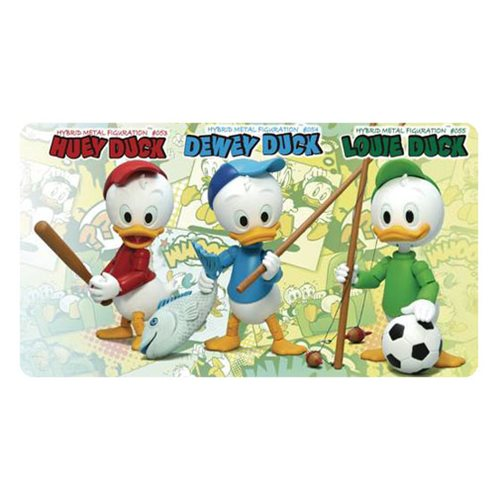 Disney Huey Dewey and Louie Duck Hybrid Metal Figuration #308 Action Figure 3-Pack