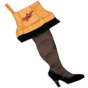 Christmas Story Leg Lamp Stocking