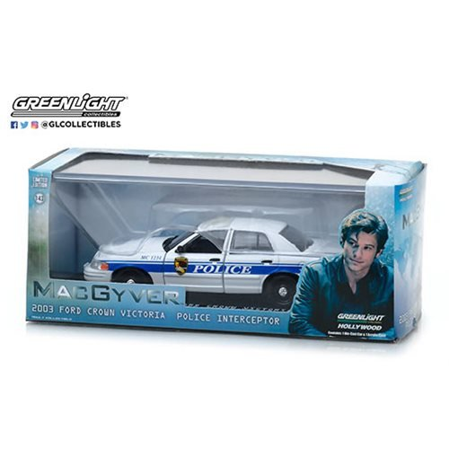 MacGyver (2016) - 2003 Ford Crown Victoria Police Interceptor1:43 Scale Die-Cast Metal Vehicle