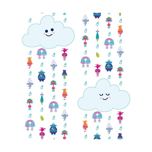 Trolls Clouds Peel and Stick Wallpaper