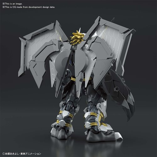 Digimon Black Wargreymon Amplified Figure-Rise Standard Model Kit