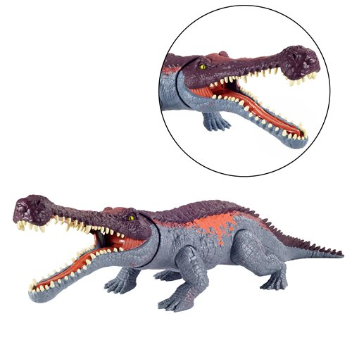 Jurassic World Massive Biters Sarcosuchus Figure