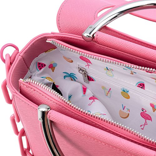 Loungefly Pool Party Flamingo Crossbody Purse