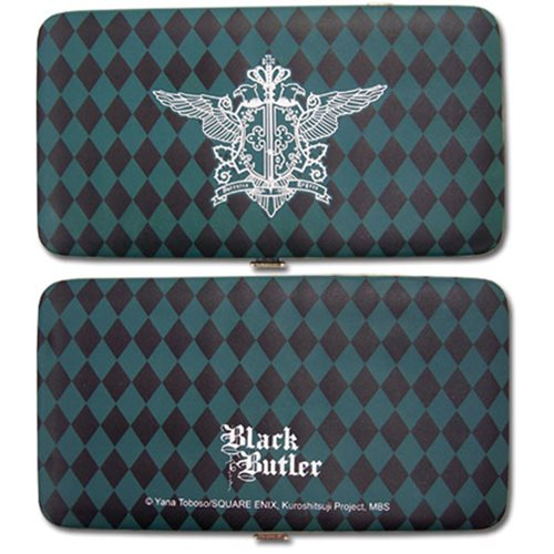 Black Butler Phantomhive Emblem Clutch Wallet
