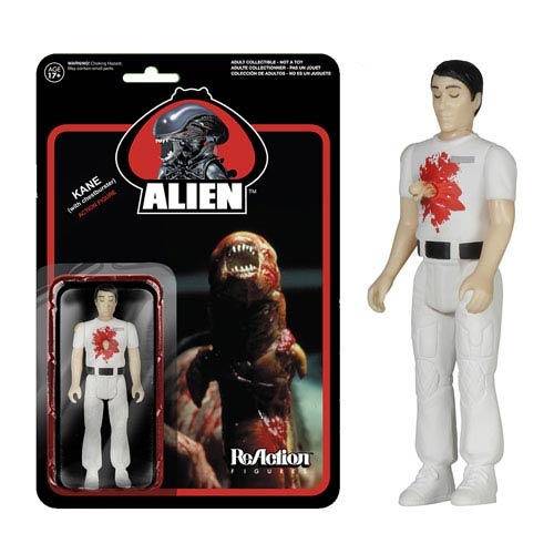 Alien Kane with Chestburster ReAction 3 3/4-Inch Retro Action Figure
