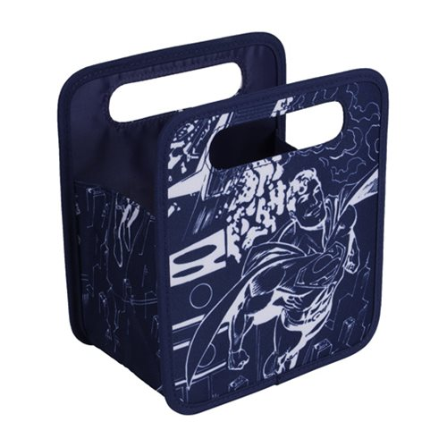 Superman Comic Storage Tote Bag
