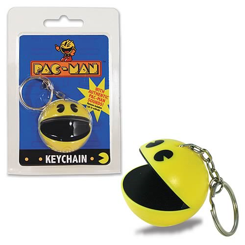 Pac-Man Sound Key Chain