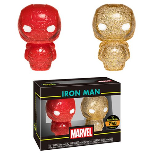 Iron Man Red and Gold Hikari XS Figure 2-Pack