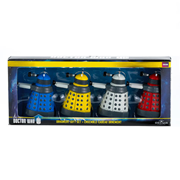 Doctor Who Dalek 2 1/4-Inch Mini-Ornament Gift 4-Pack