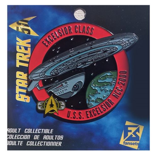 Star Trek Excelsior Pin