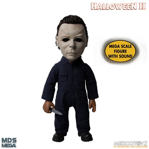 Halloween II (1981): Michael Myers with Sound Mega-Scale 15-Inch Doll