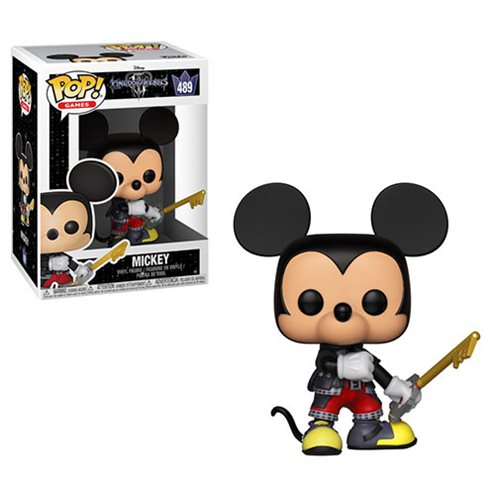 Kingdom Hearts 3 Mickey Pop! Vinyl Figure #489