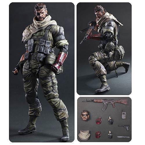 Metal Gear Solid Venom Snake Play Arts Kai Action Figure