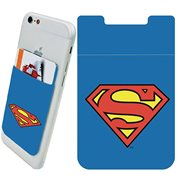 Superman Logo Phone Card Holder