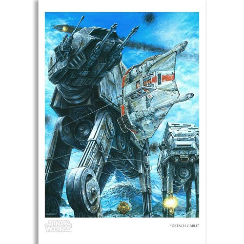 Star Wars: The Empire Strikes Back Detach Cable by Craig Skaggs Paper Giclee Art Print