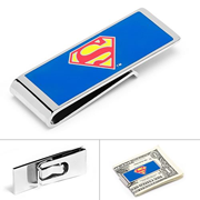 Superman Logo Blue Money Clip