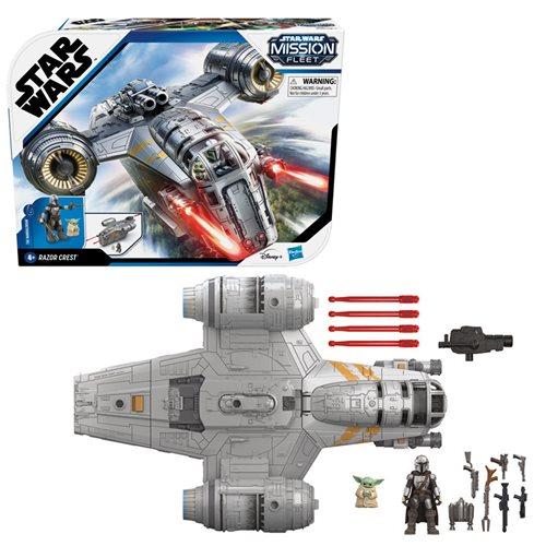 Star Wars Mission Fleet Mandalorian Razor Crest Vehicle