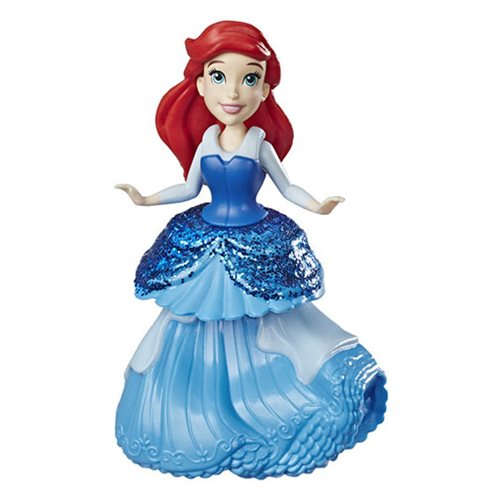 Disney Princess Ariel Doll with Royal Clips Fashion One-Clip Skirt