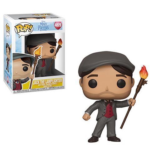 Mary Poppins Returns Jack the Lamplighter Pop! Vinyl Figure #469