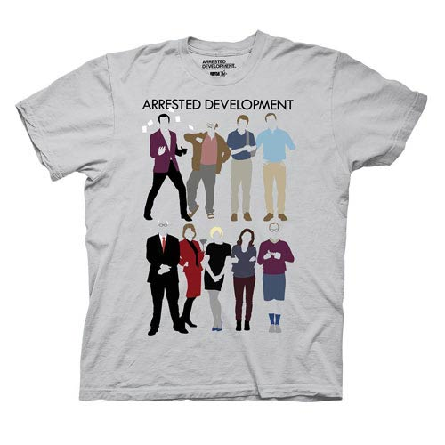 Arrested Development The Bluth Family Clothing Gray T-Shirt