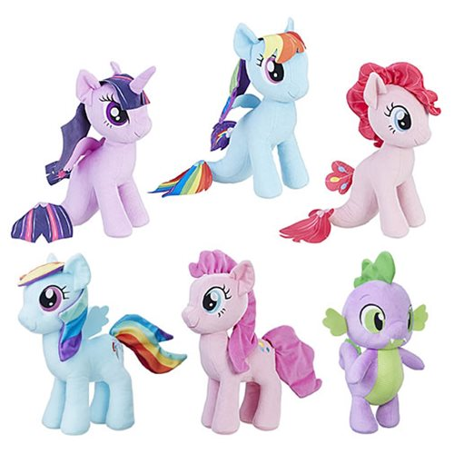 My Little Pony Cuddly Plush Wave 3 Case