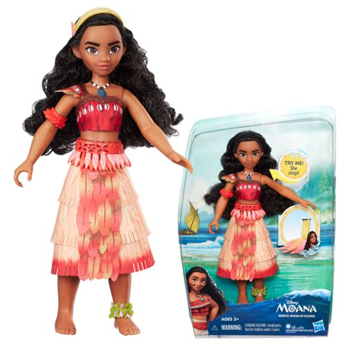 Moana of Oceania Musical Doll