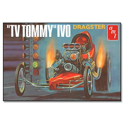 Tommy Ivo Front Engine Dragster Model Kit