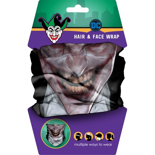 The Joker Hair Wrap