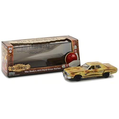 The Big Lebowski The Dude's 1973 Ford Gran Torino 1:43 Scale Die Cast Metal Vehicle
