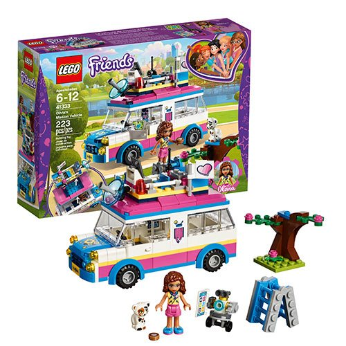 LEGO Friends Heartlake 41333 Olivia's Mission Vehicle
